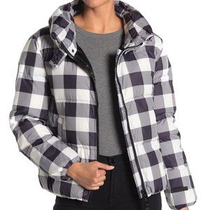 SALE! NEW JUICY COUTURE Plaid Puffer Jacket